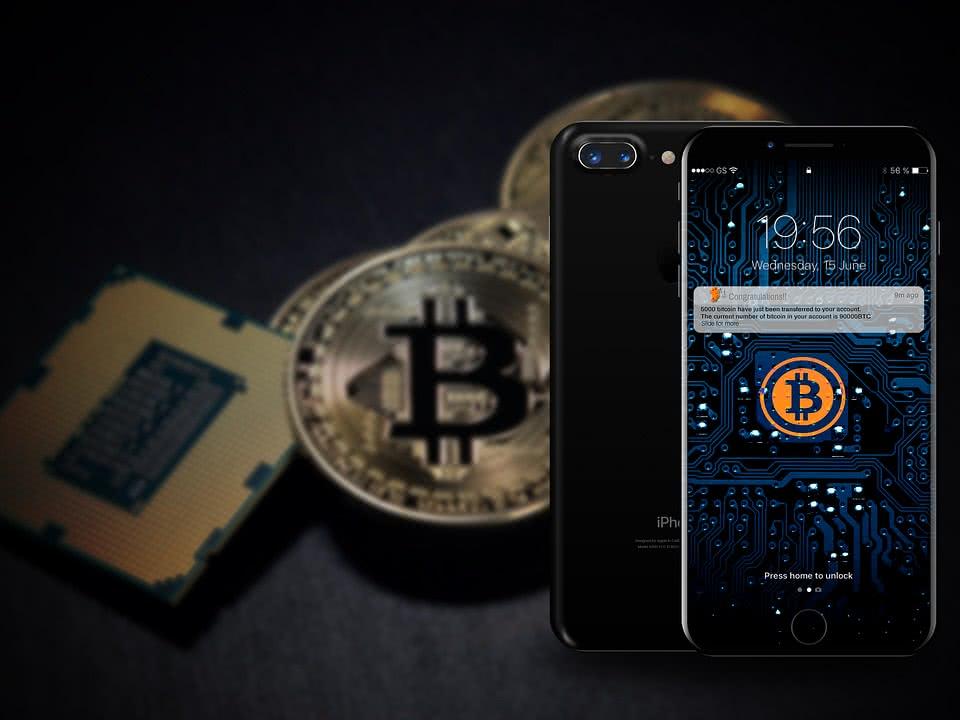 Приложение биткоинов на телефоне